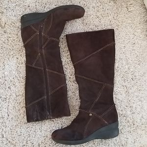 Hush Puppies Suede Winter Boots